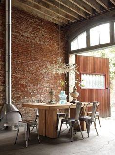 Inspiratie: brickwalls in je interieur | Woonhome.nl