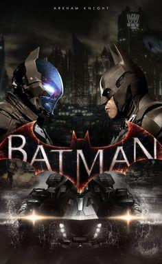 Batman: Arkham Knight by KindratBlack on DeviantArt Dc Comics, Arkham Games, Batman Arkham Knight, Deadshot, Riddler, Two Faces, Dark Knight, Catwoman, Darth Vader