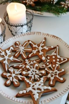 traditional Christmas ginger cookie..