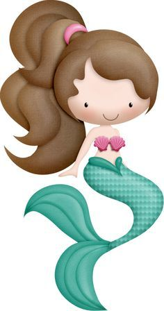Image result for simple mermaid clipart