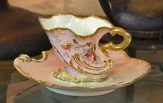 evokes the sea/scallops/waves for me Limoges