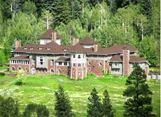 """The Redstone Castle in Redstone, Colorado - Take a tour. Teddy Roosevelt, John Rockefeller, and J Pierpont Morgan have been here. The movie """"The Prestige"""" was filmed here."""