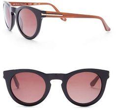 b98761c7f0 Elie Tahari Women s 53mm Round Acetate Sunglasses