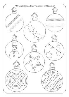 Weihnachtliches Nachfahren - Home Decor Ideas Christmas Colors, Christmas Art, Winter Christmas, Christmas Balls, String Art Templates, String Art Patterns, Christmas Activities, Christmas Printables, Kindergarten Christmas