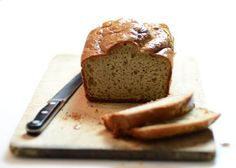 Paleo Cashew Bread Recipe | Elana's Pantry 1 cup cashew butter;  5 large eggs;  1 tablespoon apple cider vinegar;  ¾ teaspoon baking soda;  ¼ teaspoon celtic sea salt