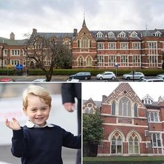 The Duke and Duchess have announced that Prince George will be starting at St Thomas' Battersea School in September 2017!