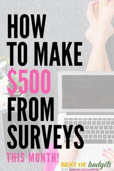 How to Make $500 Thi