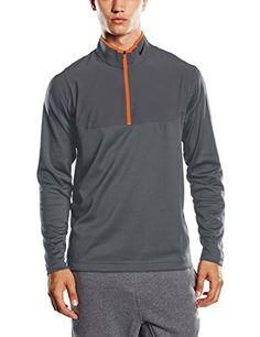 Nike Men's 1 Dri Fit / - 2 camiseta térmica gris oscuro/gris oscuro/Georgina vasilou naranja/antracita, o peque  o #regalo #arte #geek #camiseta