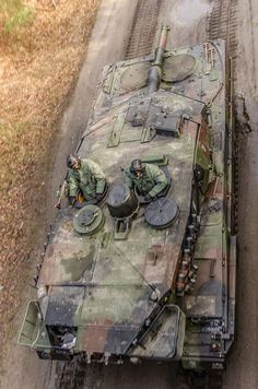 Polish Leopard 2A5 in an interesting perspective