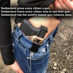 From my understanding, everyone in Switzerland serves mandatory years in the military. Beyond badass ____________________________________________ FOLLOW MY REAL NEWS PAGE🎥 @redlinemediaco FOLLOW MY POLITICAL SHOW🇺🇸 @tagteamed FOLLOW MY TWITTER 🐦 @Grant_GodwinTTL CHECK OUT MY WEBSITE AND STORE!🌐 thetypicalliberal.net/store 🥇Join our closed group on Facebook. For top fans only: Right Wing Savages🥇 Add me on Snapchat and get to know me. Don't be a stranger: thetypicallibby TURN ON POS...