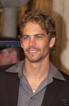 When Fast and Furious began...blue-eyed angel RIP