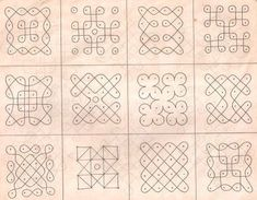 Rangoli designs with dots are very common in Southern part of India for any occasion especially for festive seasons. Here are images of 15 rangoli designs for everybody need. Simple Rangoli Designs Images, Free Hand Rangoli Design, Rangoli Border Designs, Small Rangoli Design, Rangoli Patterns, Rangoli Ideas, Rangoli Designs Diwali, Rangoli Designs With Dots, Kolam Rangoli