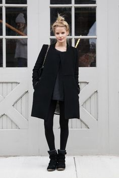 Fashion Details #7 // All black  |   Vintage Touch Blog