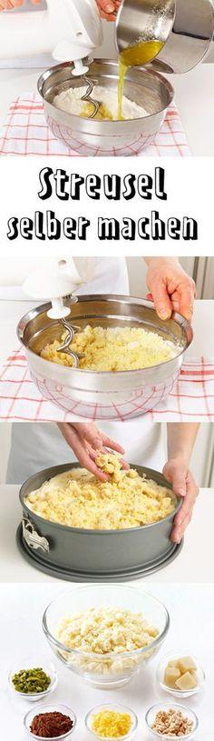 Du liebst Streusel? Wir verraten Tipps und Tricks zum Streusel selber machen. Damit toppst du Gebäck, Kuchen, süße Teilchen oder Crumbles schnell und knusprig-lecker!