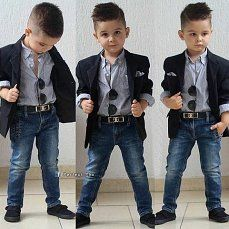 Low Cost Children S Clothing Cute Boy Outfits, Outfits Niños, Little Boy Outfits, Toddler Outfits, Kids Outfits, Toddler Boy Fashion, Little Boy Fashion, Fashion Kids, Toddler Boys