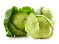 Buy Cabbage by monticelllo on PhotoDune. Cabbage isolated on white Healthy Food Choices, Healthy Foods To Eat, Healthy Recipes, Healthy Tips, Cabbage Health Benefits, Types Of Cabbage, Lactuca Sativa, Cabbage Juice, Kale And Spinach