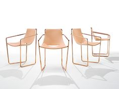 APELLE Chair with armrests by Midj design Beatriz Sempere
