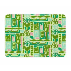 East Urban Home Maze by Amy Reber Memory Foam Bath Mat