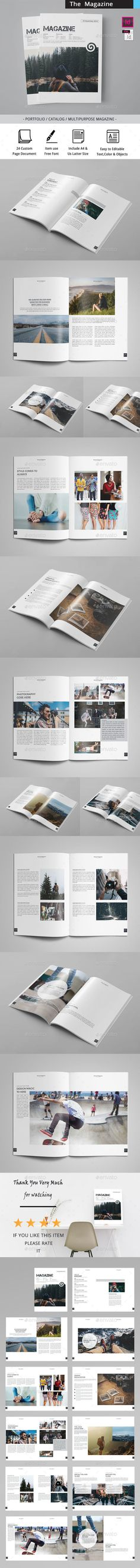 The Magazine - Magazines Print Templates Download here : https://graphicriver.net/item/the-magazine/19226749?s_rank=77&ref=Al-fatih