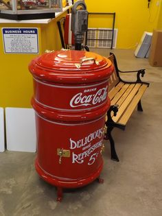 Restored Vintage Coca Cola Cooler