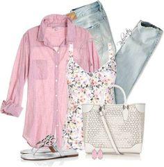 Vestir con un top con Flores - Outfits 5