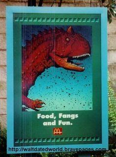 McDonalds Sponsorship in DinoLand U.S.A