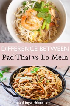 Pad Thai and Lo Mein are two of the most popular Asian noodle dishes to reign as prominent recipes to hail from the east. I'm going to share with you a comparison of these two dishes and what sets them apart in terms of origins, taste, and authenticity.  Pad Thai and Lo Mein are two of the most popular Asian noodle dishes to reign as prominent recipes to hail from the east. I'm going to share with you a comparison of these two dishes and what sets them apart in terms of origins, taste, and…