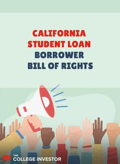The California Student Borrower Bill of Rights provides strong protections for student loan borrowers and accountability for servicers. Punitive Damages, Private Loans, Student Loan Forgiveness, Bill Of Rights, Student Loan Debt, Managing Your Money, Investing Money, Make More Money, Money Management