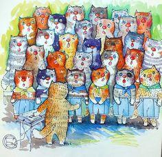 Coro de gatos