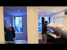 6 rooms into 1: morphing apartment packs 1100 sq ft into 420 - YouTube