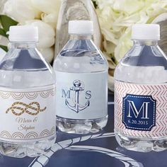 Sometimes, labels are a good thing. Especially when it comes to personalized themed water bottle labels. These ultra-cute labels arrive ready to stick.