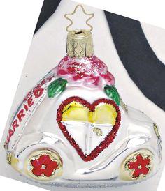 Inge Glas 2004#Christbaumschmuck#aus dem Hause Inge Glas.Weihnachtsbaumschmuck made in Germany mundgeblasen und von Hand bemalt bei www.gartenschaetze-online.de