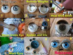 Holy Cow ... Fixing silver eye diy!