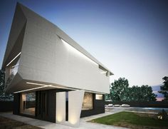 Concrete Architecture - M House Project by Marcel Luchian