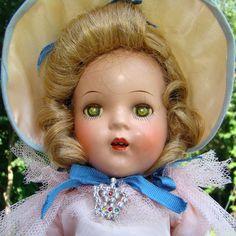 C1936 Arranbee Nancy Doll Composition 13 Inch Princess Elizabeth All Original by AmericanBeautyDolls on Etsy