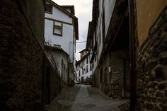 Potes - A small street in the town of Potes located in  #Cantabria #Spain