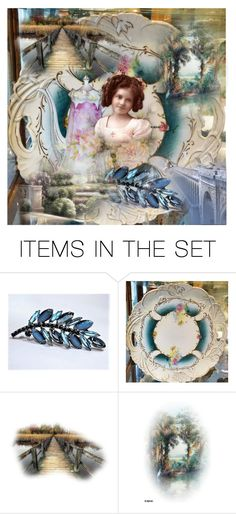 """""""Seasons Change"""" by pattysporcelainetc ❤ liked on Polyvore featuring art and vintage"""