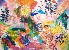 color, color, color! (from An inspiration for Oscar de la Renta #THEBOARD)