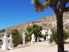 Desert Christ Park in Yucca Valley