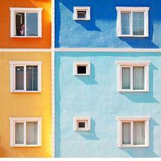 #regram @cimkedi #color #facade #architecture #istanbul