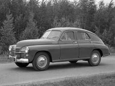 "GAZ M-20 ""Pobeda"" '11.1949–55 http://en.autowp.ru/gaz/pobeda/"