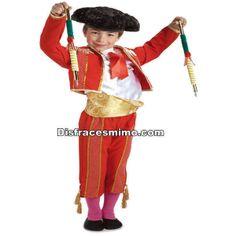 DisfracesMimo, disfraz torero banderillero niño infantil,es perfecto para convertirte con este disfraz de torero banderillero niño en un auténtico maestro taurino y salir a hombros por la puerta grande de tus fiestas de cumpleaños, fiestas andaluzas.