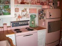 1950s living room and kitchen - Google Search