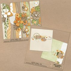 Let's Fall In Scrapping Starters Bundle by Mad Genius Designs