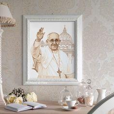 Quadro Papa Francesco schema