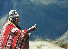 Celebración de la Pachamama. Perú