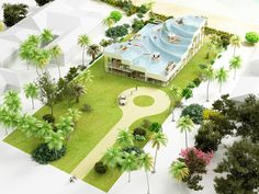 Pool House Florida by NL