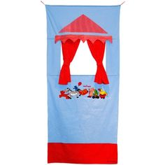 The Friendly Seven Door Theatre, 185 x 85 cm, Model# 25288 Puppet Show, Puppet Theatre, Theater, Baby Memories, Fabric Glue, Childrens Gifts, Toys Online, Mini Me, Gifts For Girls