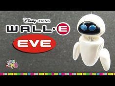 EVE (WALL-E) polymer clay tutorial  / EVA  WALL-E de Arcilla polimérica