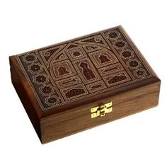 Handmade Jewelry Box Wood Carved Valentine Gifts for Girlfriend